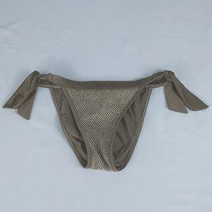 Guess Bikini Metallic Gold Bottom XS